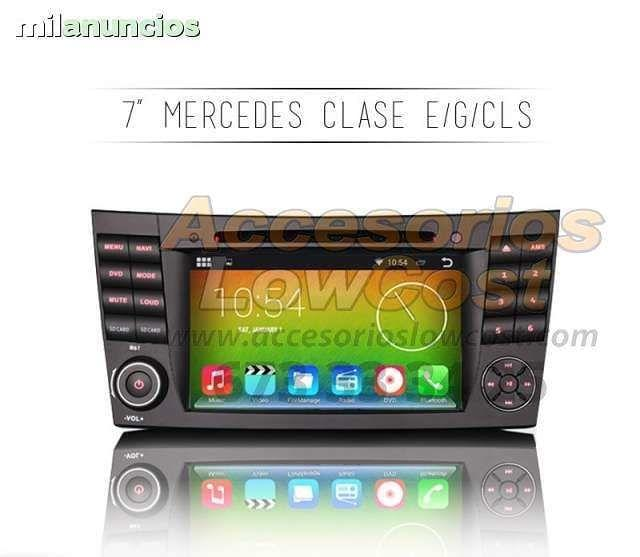 RADIO GPS ANDR HD MERCEDES CLASE CLS G