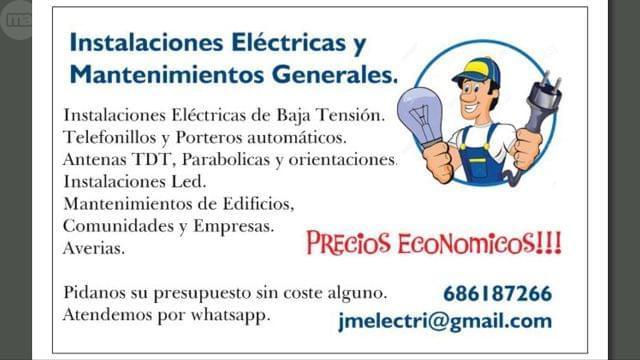 INSTALACIONES ELÉCTRICAS JMELECTRI - foto 1