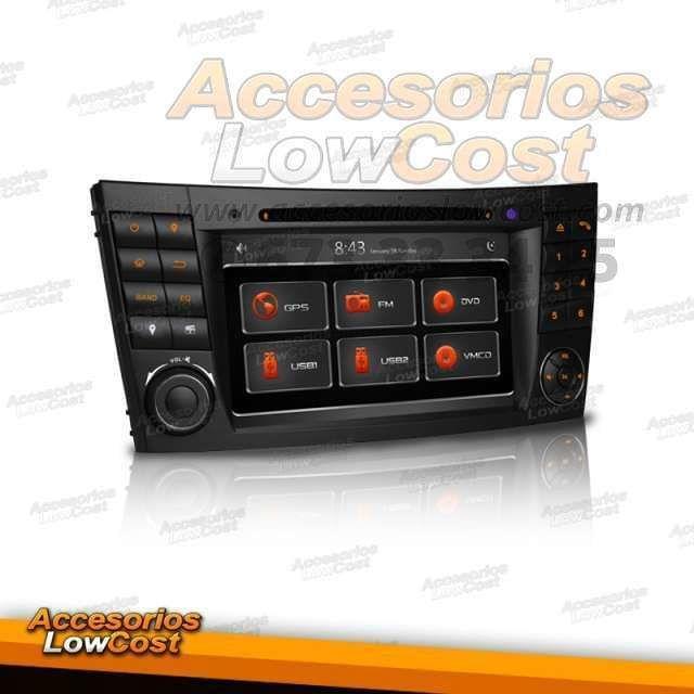 RADIO GPS 2DIN DVD HD MERCEDES CLS G