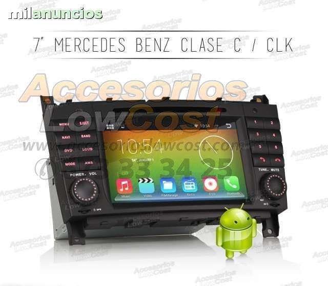 RADIO GPS HD MERCEDES C W203 04 C203 04
