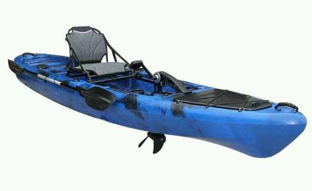 KAYAK A PEDALES TRIDENTE FULL EQUIP