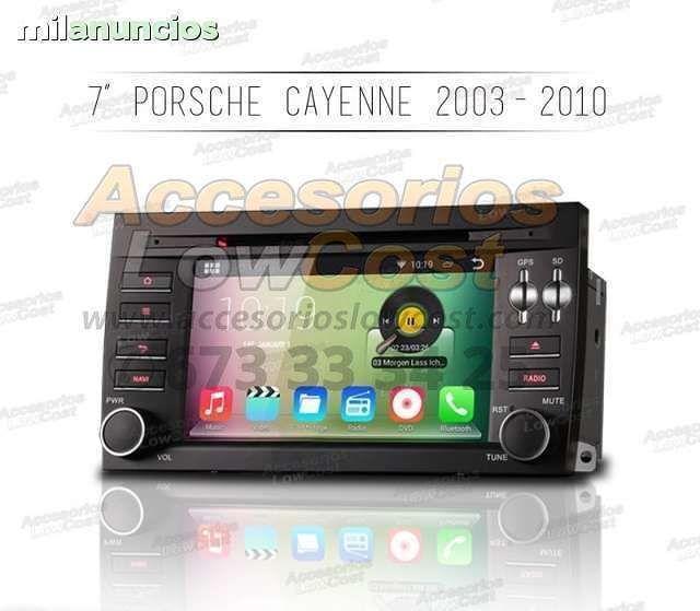 RADIO GPS ANDROID PARA PORSCHE CAYENNE