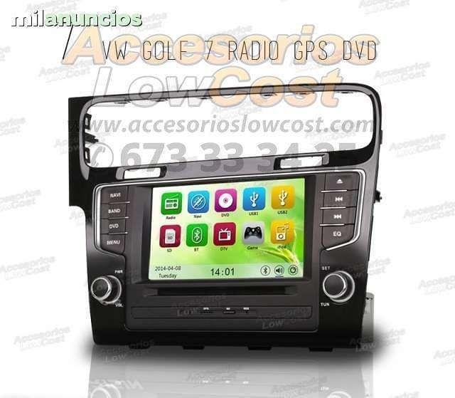 RADIO GPS HD VOLKSWAGEN GOLF 7 2012-
