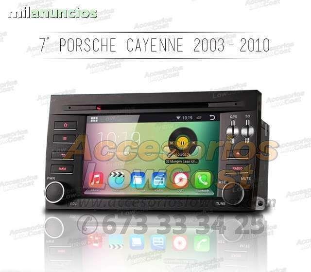 RADIO GPS ANDROID PORSCHE CAYENNE 03-10
