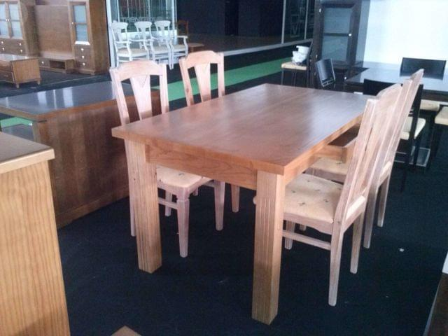 mesa cocina rustica