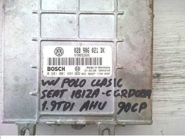 0281001484 BOSCH VW POLO 1. 9TDI LIBRE