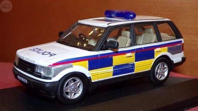 Range Rover Police Escala 1:43 De Hongwe