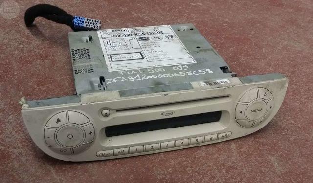 RADIO CD MP3 FIAT 500 (150) 2009-2015
