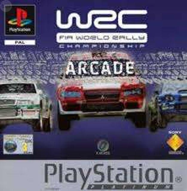 JUEGO PS1 PSONE WRC FIA WORLD RALLY