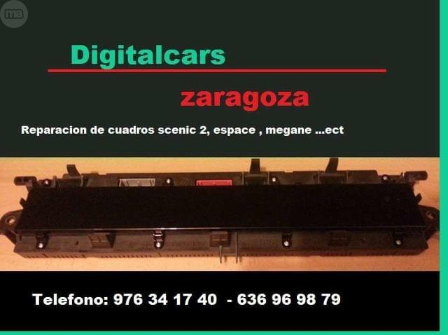 REPARACION AVERIA DE CUADRO SCENIC 2