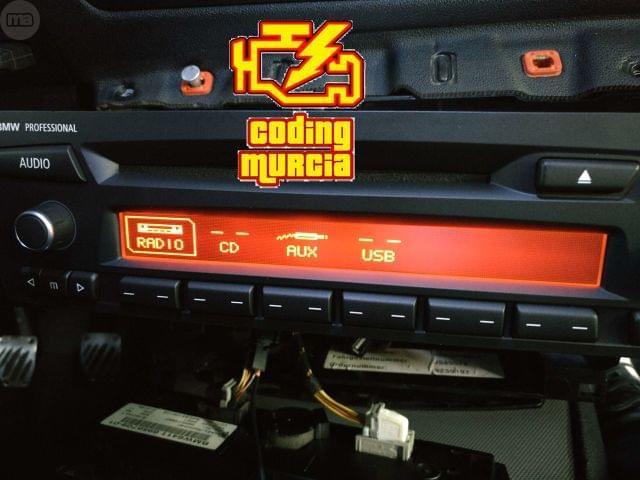 RADIO ORIGINAL BMW E90 E87 CON USB Y BT