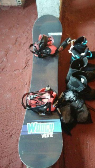 TABLA SNOW CON FIJACIONES Y SOLO 4 USOS - foto 5