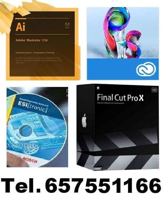 NECESITA PROGRAMAS?TODOS. PC MAC. DESDE 5