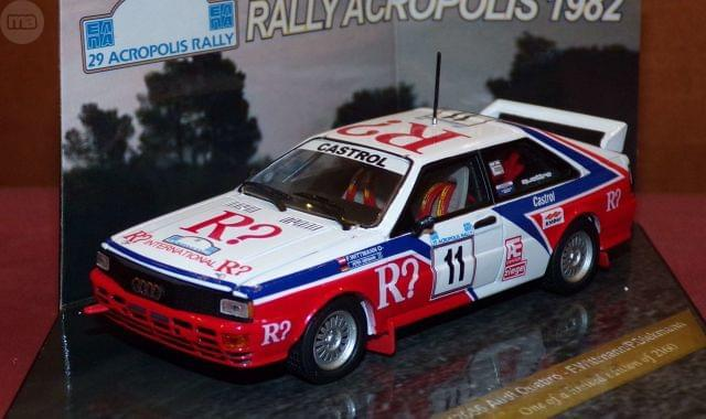 Audi Quattro Rallye Acropolis 1982 F. Wi
