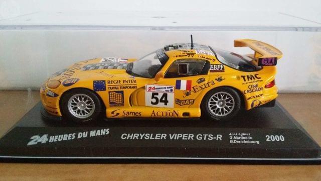 Chrysler Viper Gts-R - 24H Le Mans 2000