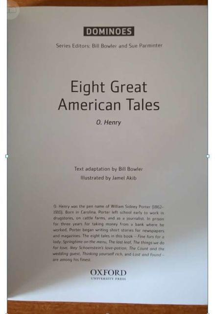 LIBRO INGLES EIGHT GREAT AMERICAN TALES - foto 2