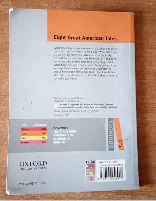 LIBRO INGLES EIGHT GREAT AMERICAN TALES - foto 6