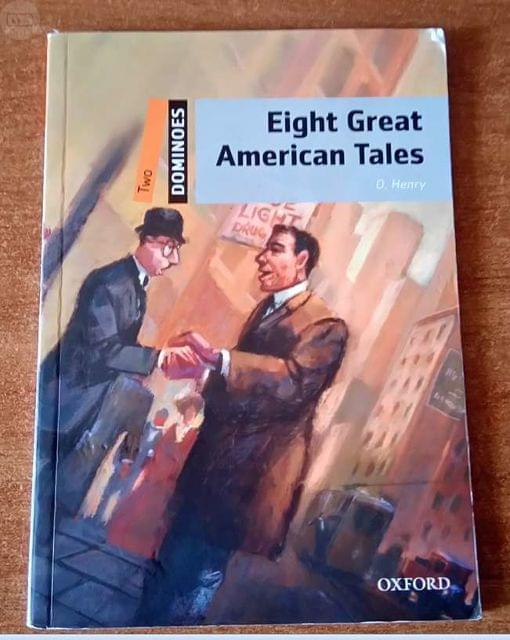 LIBRO INGLES EIGHT GREAT AMERICAN TALES - foto 1