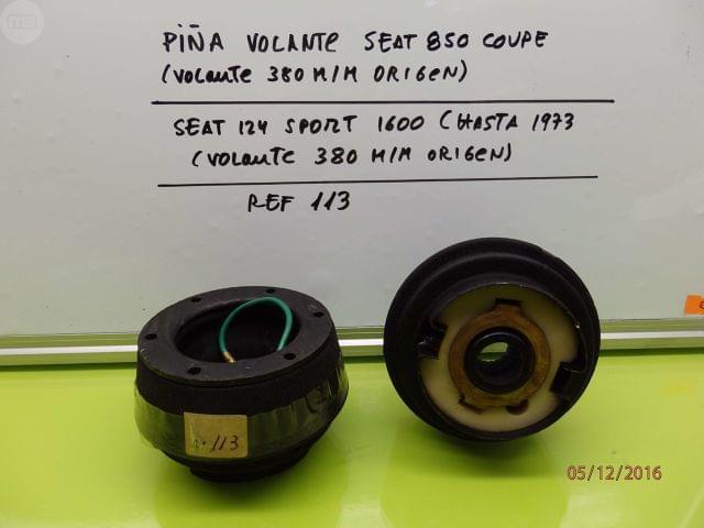 PIÑA VOLANTE SEAT 124 SPORT, SEAT 850