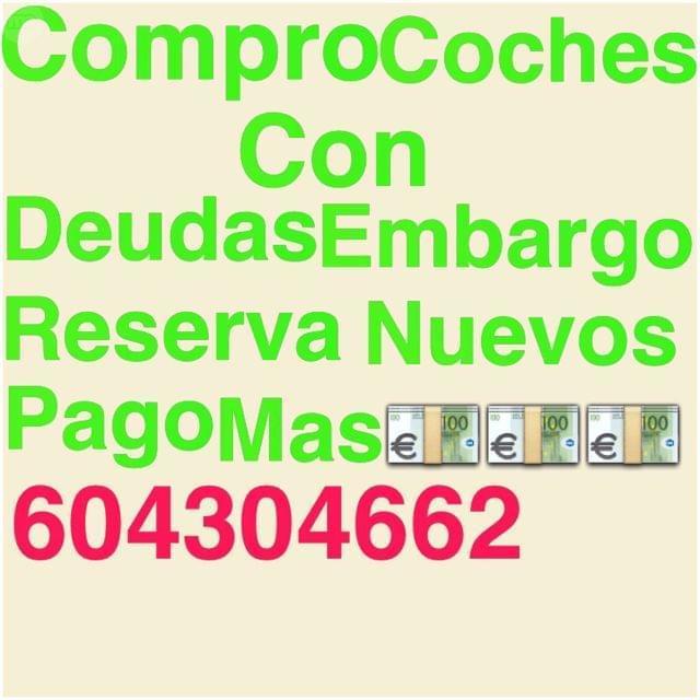 COMPRO COCHES DE ALTA GAMA CON DEUDAS