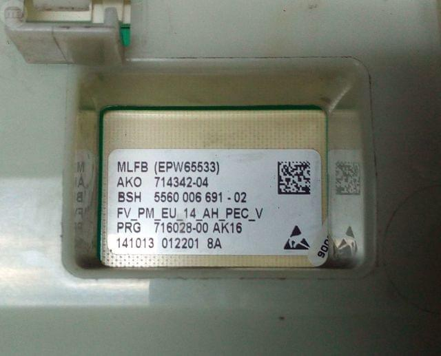MODULO BOSCH BALAY EPW65533