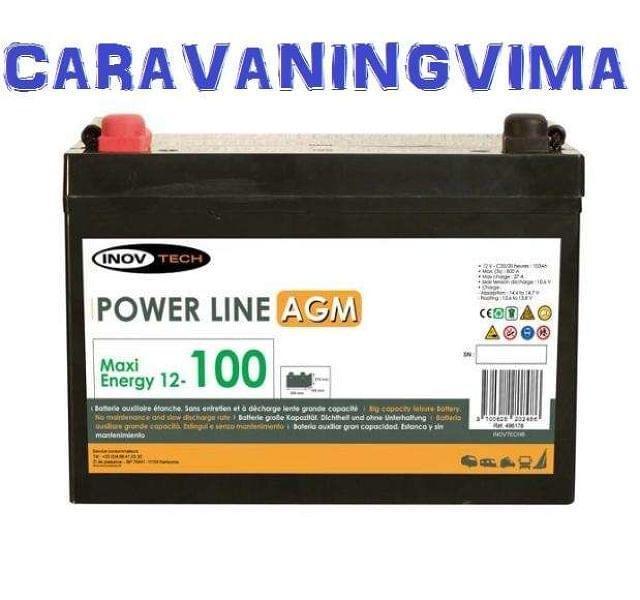 BATERIA - 100 AMP AGM