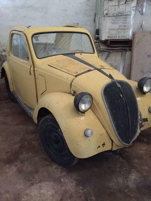 FIAT TOPOLINO 500A CLÁSICO ITALIANO DESCAPOTABLE DE 1937 - FIAT 500A - foto 1