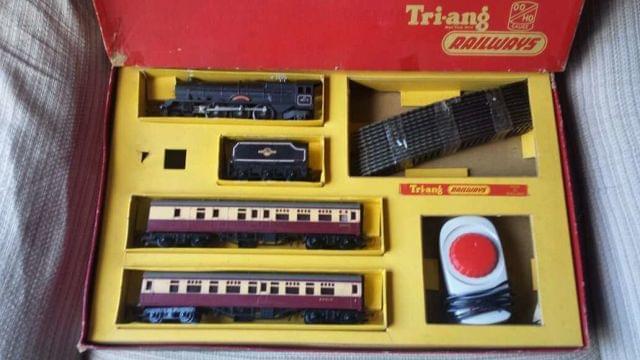 ANTIGUO TREN TRIANG RAILWAYS HO - foto 2