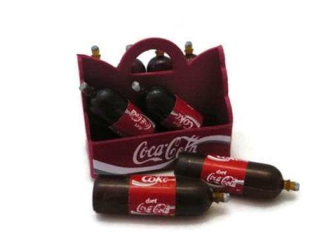 Miniaturas Botellas De Coca-Cola