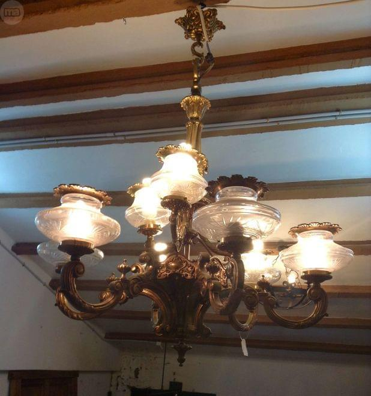 ANTIGUA ANTIGUA LAMPARA DE ANTIGUA LAMPARA DE BRONCE LAMPARA BRONCE DE BRONCE qpGSVMjzLU