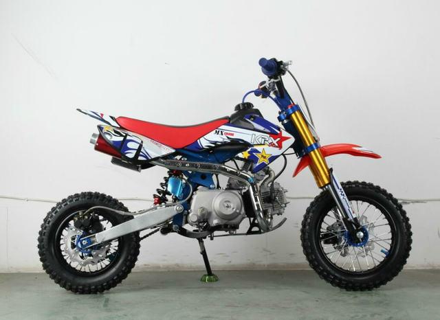 MINI MOTO CROSS 90CC KRX RUEDAS 12/10 - foto 2