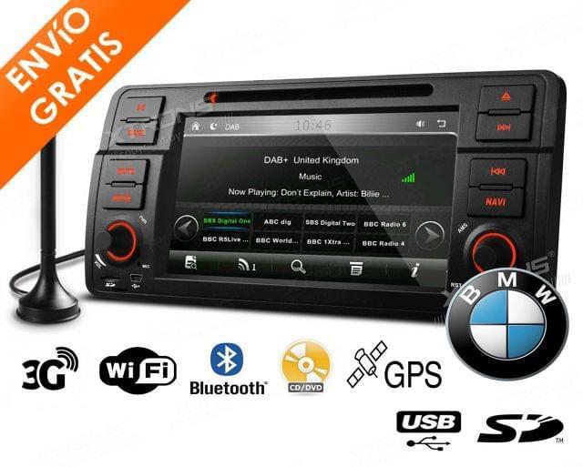 AUTORADIO SERIE 3 BMW GPS XTRONS