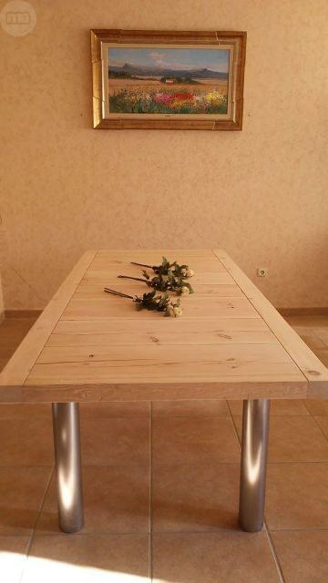 Mesa Comedor Rustica Segunda Mano. Armario Rstico Madera De Pino ...