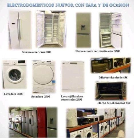 ELECTRODOMESTICOS CON TARA LIQUIDIDACION