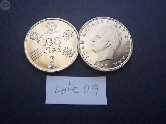 Dos Monedas De 100 Pesetas 1980 (***)