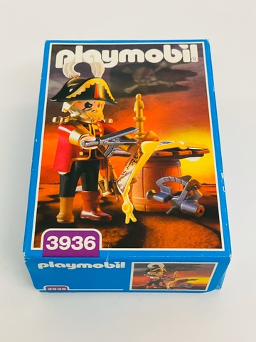 Playmobil 3936 Capitán Pirata NUEVA MISB