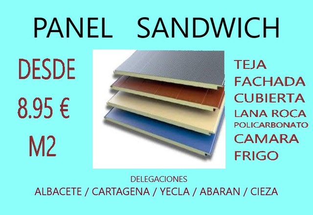 Panel Sandwich Murcia Norte Cartagena (2