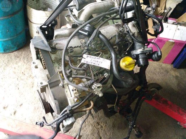 DESPIECE MOTOR RENAULT 1. 9 DCI 120CV