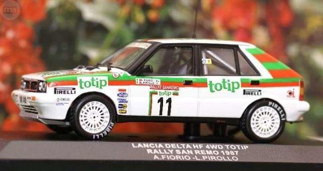 Lancia Delta Hf 4Wd Totip Rallye Sanremo