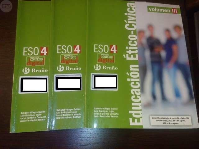 EDUCACIÓN ÉTICO-CÍVICA 4 ESO