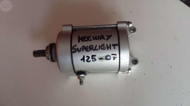 MOTOR DE ARRANQUE KEEWAY SUPERLIGHT 125