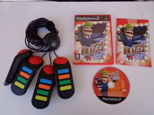 EL GRAN RETO BUZZ PS2 O CAMBIO X TV 15