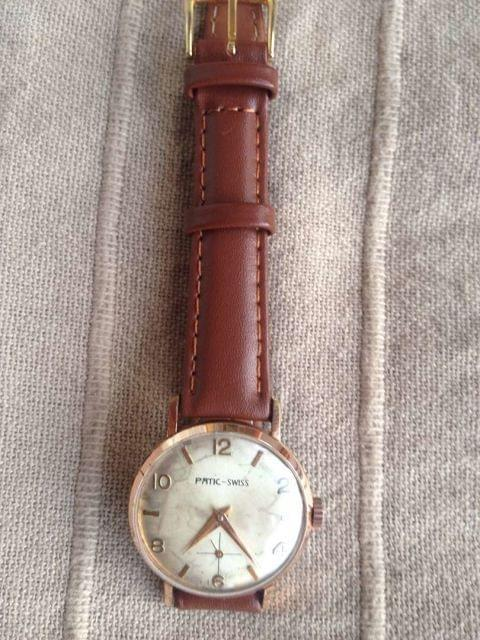 Precioso Reloj Antiguo Patic Swiss