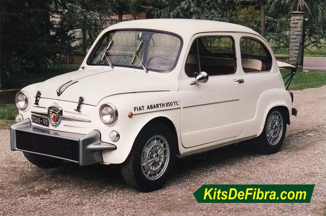 KIT FIBRA SEAT 600 ABARTH ESTRECHO 850TC