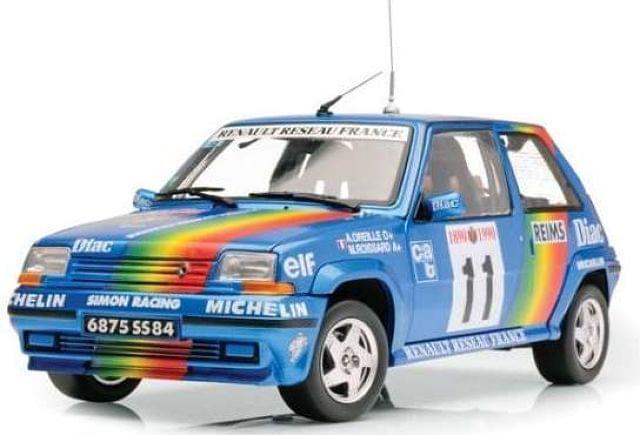 Renault 5 Gt Turbo Rallye Montecarlo 199