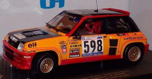 Renault 5 Turbo #598 Italy Rally 1979 G.