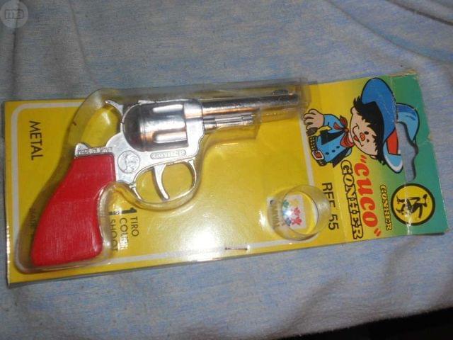 Revolveres Metal 1970 6 Juguete Clasico jGSqLzMVpU