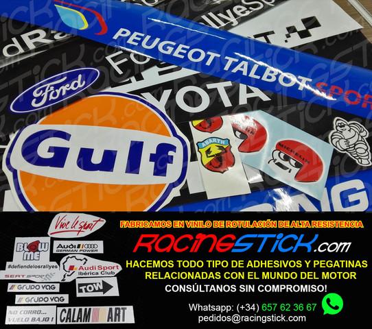 Vinilo de corte Pegatina VAG AUDI CARTAS sticker decal GRUPO VAG