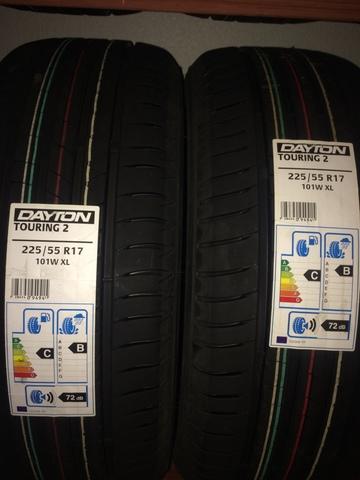 Neumático Dayton TOURING 2 XL 215//45 R17 91Y