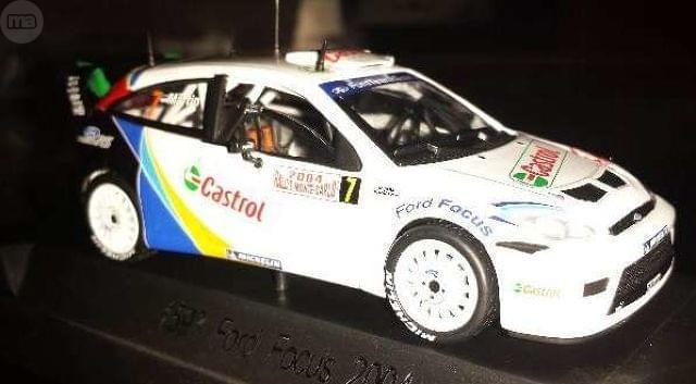 Ford Focus Wrc Rallye De Montecarlo 2004